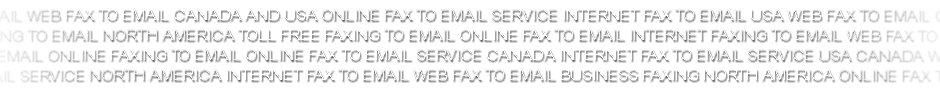 Internet fax to email USA and Canada